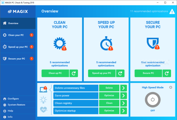 Magix PC Check & Tuning 2021 Crack + Serial Key Free Download