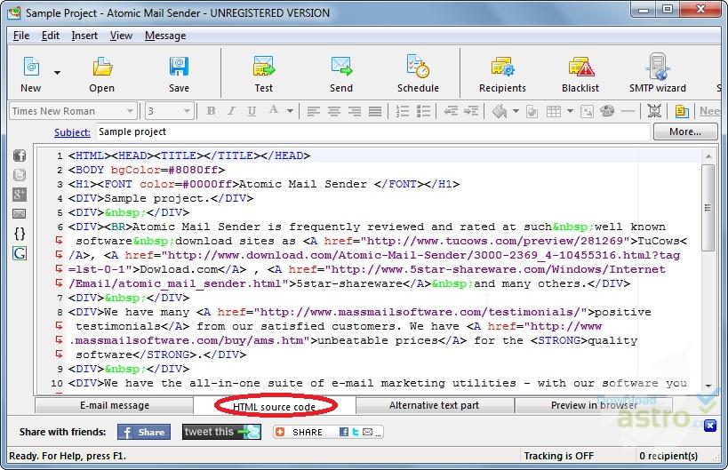 Atomic Mail Sender 9.5 Crack +License Key Free Download 2021