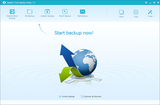 EaseUS Todo Backup Home Crack + Product